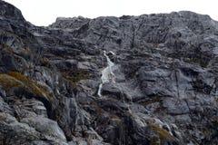 Siklawy Nena lodowiec na archipelagu Tierra Del Fuego zdjęcia royalty free