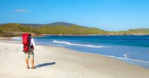 Siklawy plaża obrazy stock