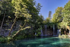 Siklawy Plitvice park narodowy Obrazy Stock