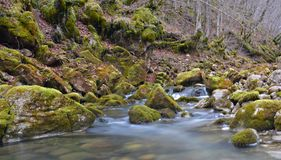 Siklawy Rama3 rzeczny Bośnia i Herzegovina zdjęcia royalty free