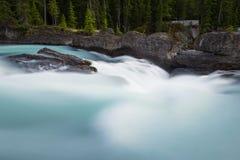 Siklawy tęsk ujawnienie, Skaliste góry w Kanada Zdjęcia Royalty Free