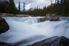 Siklawy tęsk ujawnienie, Skaliste góry w Kanada Obraz Royalty Free