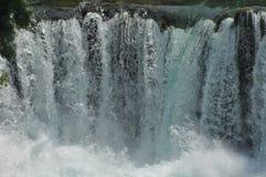 Siklawy w Krka parku narodowym w Chorwacja Siła i malowniczy cud Zdjęcia Royalty Free