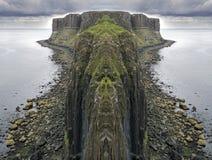 Siklawy wyspa Skye w Sierpień Zdjęcie Stock