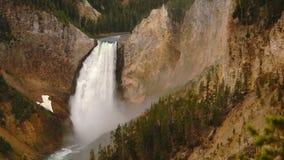 Siklawy Yellowstone park narodowy Wyoming Stany Zjednoczone zbiory wideo