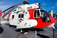 Sikorsky HH-52 Seaguard helikopter Royaltyfri Fotografi