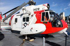 Sikorsky HH-52 Seaguard Helicopter. Royalty Free Stock Image