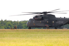 Sikorsky S-65, CH-53 transport helicopter Stock Photos
