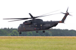 Sikorsky S-65, CH-53 transport helicopter Royalty Free Stock Photography