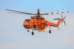 Sikorsky S-64E Skycrane immagine stock libera da diritti