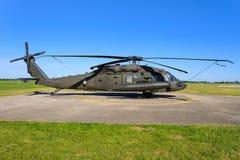 Sikorsky UH-60L BlackHawk de la fuerza aérea de Estados Unidos fotos de archivo