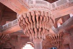 Sikri 01 van Fatepur Stock Foto's