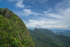 Sikt över den Langkawi ön Royaltyfria Bilder
