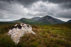 Sikt över den skotska Skotska högländerna Royaltyfria Foton