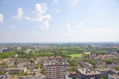 Sikt över holländsk stad av Beverwijk Royaltyfri Fotografi