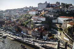 Sikt över Porto, Portugal royaltyfria foton