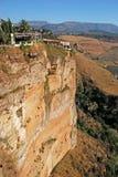 Sikt över Ronda i Andalucia Arkivfoton