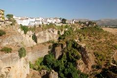 Sikt över Ronda i Andalucia Royaltyfria Foton