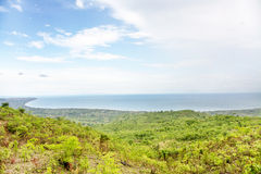 Sikt över sjön Malawi Royaltyfri Bild