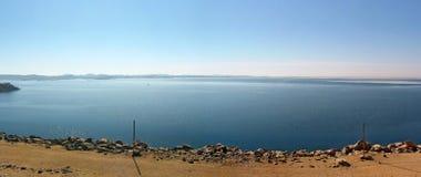 Sikt över sjön Nasser Royaltyfri Bild