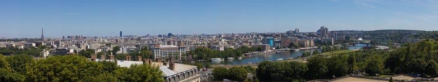 Sikt över taken av Paris Royaltyfria Bilder