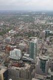 Sikt över Toronto från CN-tornet Royaltyfria Foton