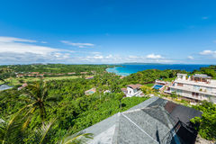 Sikt av ön av Boracay Arkivbild