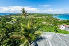 Sikt av ön av Boracay Royaltyfri Fotografi