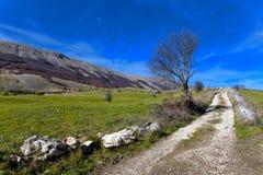 Sikt av Abruzzo Royaltyfri Foto