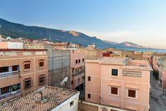 Sikt av Afourar morocco Royaltyfri Bild