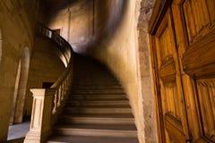 Sikt av Alhambra inre i Granada, Spanien Arkivbilder