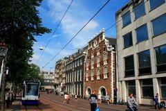 Sikt av Amsterdam, Nederländerna royaltyfri fotografi