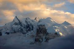 Sikt av Annapurna Royaltyfria Bilder