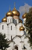 Sikt av antagandekyrkan i Yaroslavl, Ryssland Arkivbilder