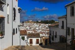 Sikt av Antequeraen, Spanien Royaltyfri Foto
