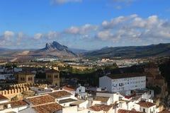 Sikt av Antequeraen, Spanien Royaltyfri Fotografi