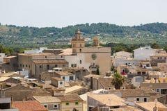 Sikt av Arta, Mallorca Royaltyfri Foto