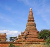 Sikt av Bagan tempel, Myanmar Royaltyfri Foto