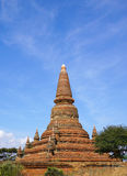 Sikt av Bagan tempel, Myanmar Royaltyfri Fotografi