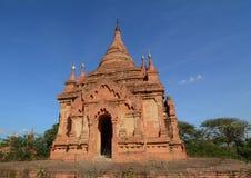 Sikt av Bagan tempel, Myanmar Royaltyfria Foton