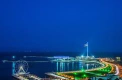 Sikt av Baku Royaltyfri Fotografi