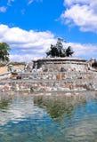 Sikt av berömda Gefion Fountain Gefionspringvandet i Köpenhamn arkivfoton