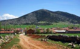 Sikt av bergen av Turkiet Arkivfoton
