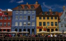 Sikt av Bergens gamla stad fotografering för bildbyråer