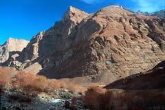 Sikt av berget Royaltyfri Bild