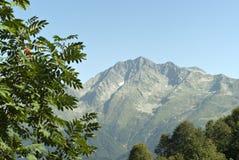 Sikt av berget Chugush Arkivbild