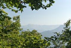Sikt av berget Chugush Royaltyfri Foto