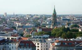Sikt av Berlin från Berlin Cathedral Church Berliner Dom, Tyskland Fotografering för Bildbyråer