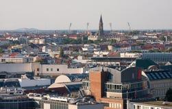 Sikt av Berlin från Berlin Cathedral Church Berliner Dom, Tyskland Royaltyfri Foto