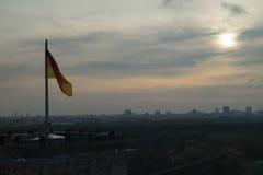 Sikt av Berlin från Bundestagen Royaltyfri Fotografi